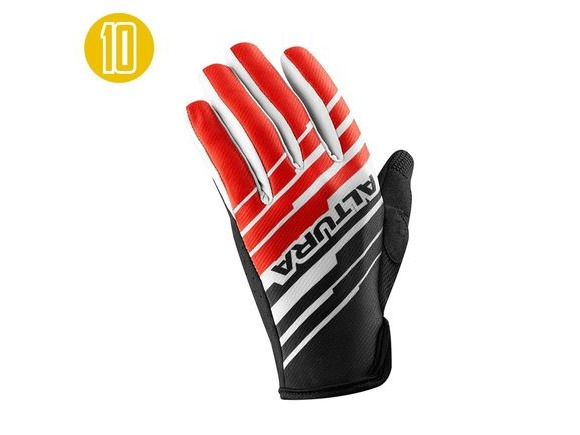 Altura One 80 (180) G2 Gloves: Red/black click to zoom image