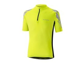 Altura Kids Nightvision Short Sleeve Jersey 2016: Hi Viz Yellow/black