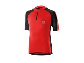 Altura Kids Sprint Short Sleeve Jersey 2016: Red/black