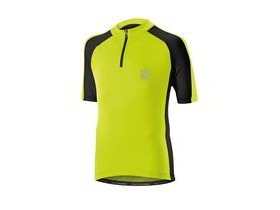 Altura Kids Sprint Short Sleeve Jersey 2016: Yellow/black