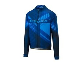 Altura Team Long Sleeve Jersey 2018: Blue/blue