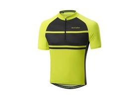Altura Airstream 2 Short Sleeve Jersey: Hi-viz Yellow/black