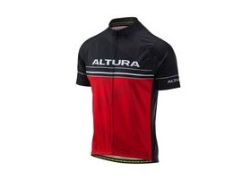 Altura Team Short Sleeve Jersey 2018: Red/black