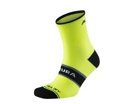 Altura Peloton Sock Triple Pack 2018: Hi-viz Yellow/black/white