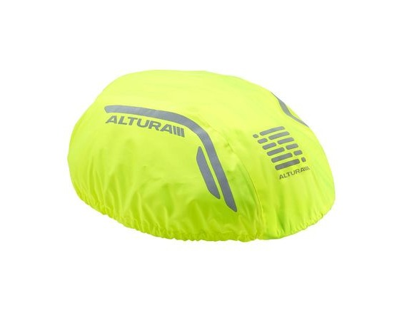 Altura Nightvision Waterproof Helmet Cover 2016: Hi Viz Yellow click to zoom image