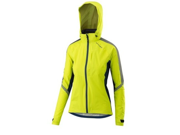 Altura Womens Nightvision Cyclone Jacket 2018: Hi-viz Yellow click to zoom image