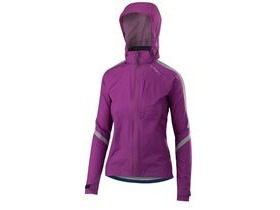 Altura Womens Nightvision Cyclone Jacket 2018: Purple