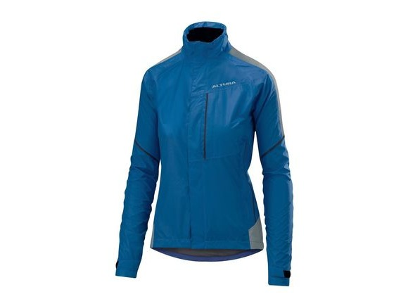 Altura Womens Nightvision Twilight Jacket 2018: Blue click to zoom image