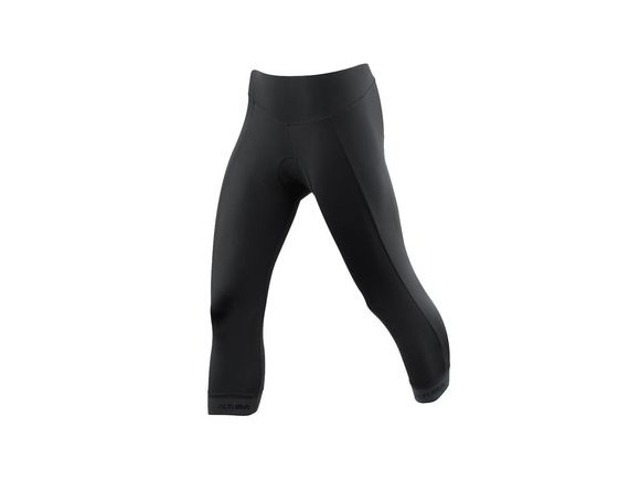 Altura Womens Progel 3 3/4 Tight 2018: Black click to zoom image