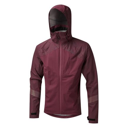 Altura Nightvision Hurricane Waterproof Jacket Maroon click to zoom image