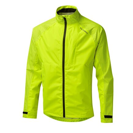 Altura Nightvision Storm Waterproof Jacket Hi Viz Yellow click to zoom image