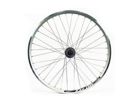 Wilkinson Wheels 26x1.75 Front - Silver Double Wall MTB Rim - Disc/V-brake Q/R Disc Hub Silver Spokes, 36 Hole Silver 26""