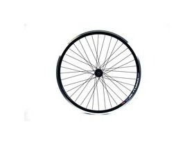 Wilkinson Wheels 26x1.75 Rear - Black Double Wall MTB Rim - V-brake Q/R 8/9 Speed Hub Black Spokes, 36 Hole 26""
