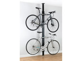 Gear Up BUA aluminium Floor-to-Ceiling 2 to 4-bike rack black