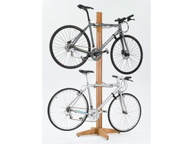 Gear Up OakRak Freestanding 2 to 4-bike rack - Golden Pecan