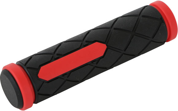 ETC MTB Dual Density Grips 125mm Red/Black click to zoom image