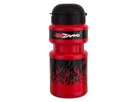 Kidza Bottle and Cage Red Flames