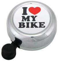 WIDEK I Love My Bike Bell
