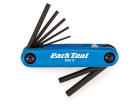 PARK TOOL AWS-10 Fold-Up Hex Wrench Set 1.5 to 6mm