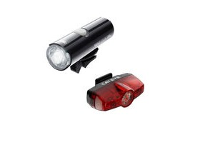 CATEYE Volt 200 XC Front & Rapid Mini Rear Usb Rechargeable Set