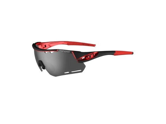 TIFOSI Alliant Interchangeable Lens Eyewear Black/Red click to zoom image