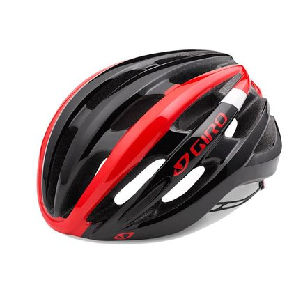 GIRO Foray Road Helmet Bright Red/Black click to zoom image