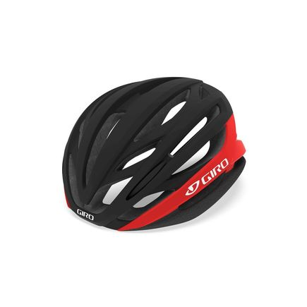 GIRO Syntax Road Helmet Matte Black/Bright Red click to zoom image